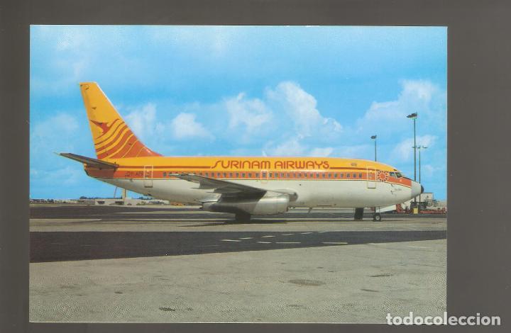 POSTALES DE AVIONES SIN USAR NUEVAS 042 (Postales - Postales Temáticas - Aeroplanos, Zeppelines y Globos)