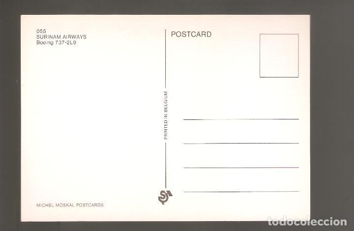 Postales: Postales de aviones sin usar nuevas 042 - Foto 2 - 113981219