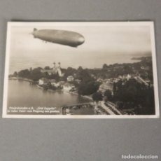 Postales: POSTAL DE AVIACIÓN.- FRIEDRICHSHAFEN ALEMANIA .- GRAF ZEPPELIN 1931. Lote 116486271
