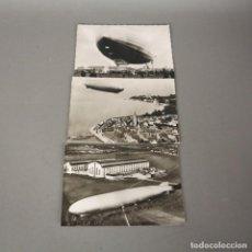 Postales: 3 POSTALES DE AVIACIÓN.- FRIEDRICHSHAFEN ALEMANIA .- GRAF ZEPPELIN 1950 - 1959. Lote 116486491
