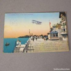 Postales: POSTAL DE AVIACIÓN.- AEROPLANO SOBRE FRIEDRICHSHAFEN ALEMANIA 1915. Lote 116486567