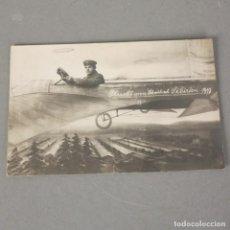 Postales: POSTAL DE AVIACIÓN.- AEROPLANO Y ZEPPELIN ALEMANIA 1915 - 1918. Lote 116486699