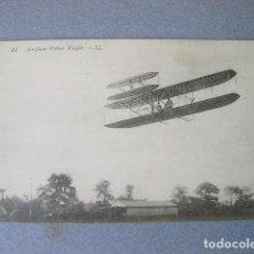 Postcards - POSTAL ANTIGUA DEL AEROPLANO WILBUR WRIGHT - L´AEROPLANE - 120876211
