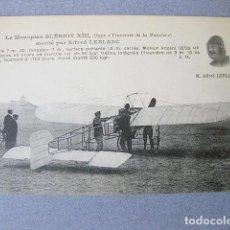 Postales: POSTAL ANTIGUA DEL MONOPLANO BLERIOT XIII. CARTE POSTALE LE MONOPLAN. M. ALFRED LEBLANC. Lote 120877775