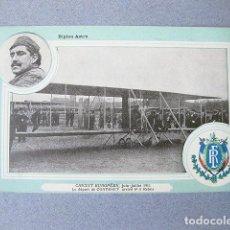 Postales: POSTAL DEL BIPLANO ASTRA. CIRCUIT EUROPÉEN. 1911. CIRCULADA. Lote 120877923