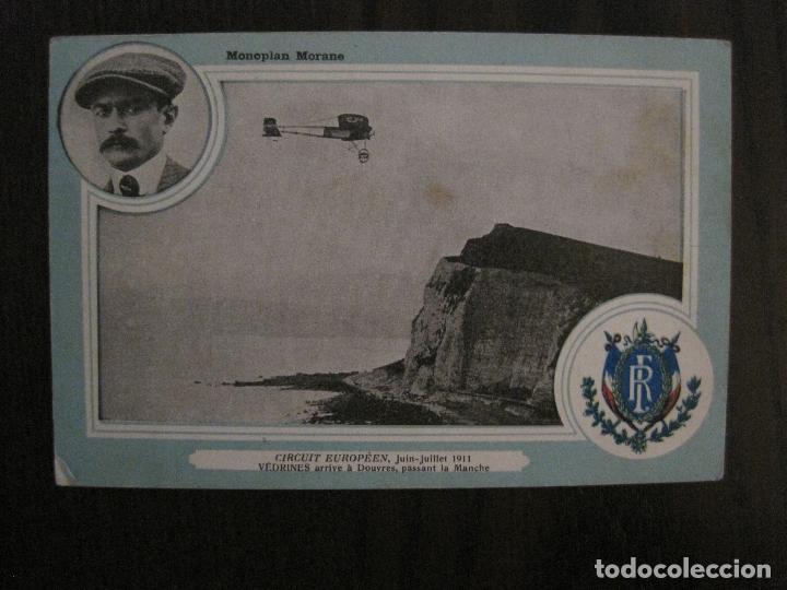 AVIACION - POSTAL ANTIGUA -VER FOTOS-(52.913) (Postales - Postales Temáticas - Aeroplanos, Zeppelines y Globos)