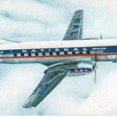 Postales: TARJETA POSTAL DEL NATIONAL AIRLINES. CONVAIR- 340. . Lote 121596071