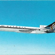 Postales: BOEING 727-200 OLYMPIC AIRWAYS . Lote 122039927