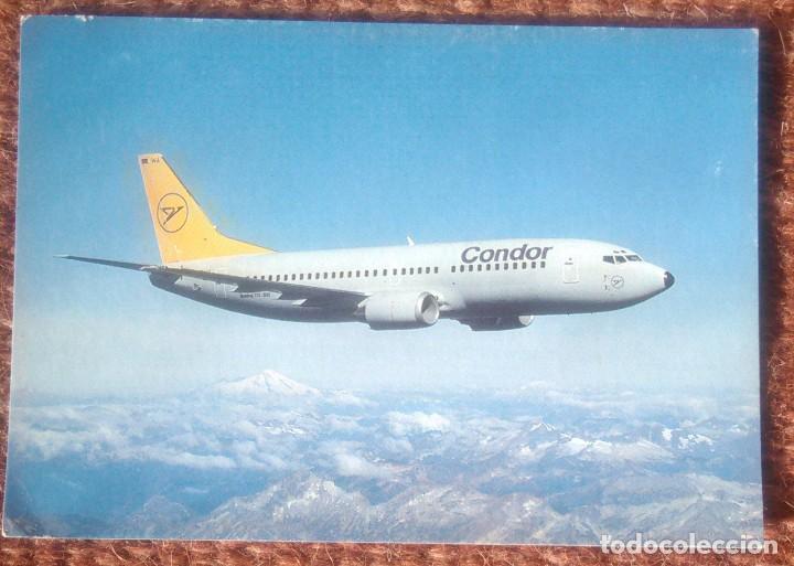 CONDOR - BOEING 737 (Postales - Postales Temáticas - Aeroplanos, Zeppelines y Globos)