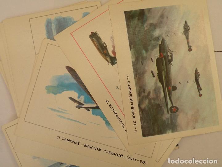 Postales: Juego de postales Como el hombre aprendió a volar - Foto 3 - 123570343