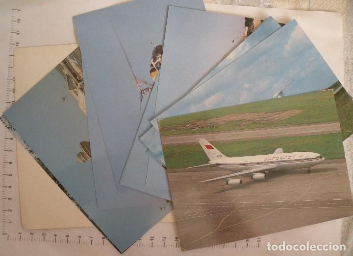Postales: Juego de postales con aviones soviéticos - Foto 2 - 127484963