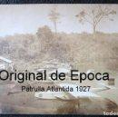 Postales: (JX-180719)EXCEPCIONAL POSTAL FOTOGRÁFICA DE LOS HIDROAVIONES DORNIER WAL DE LA PATRULLA ATLANTIDA. Lote 127569419