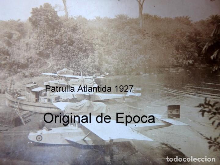 Postales: (JX-180719)Excepcional postal fotográfica de los Hidroaviones Dornier Wal de la patrulla Atlantida - Foto 2 - 127569419