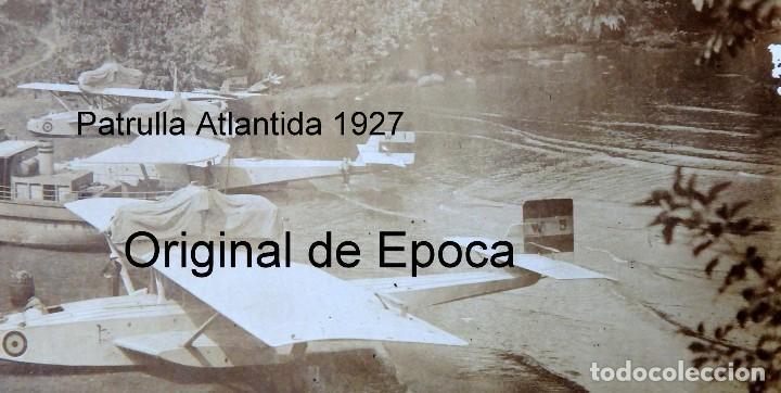 Postales: (JX-180719)Excepcional postal fotográfica de los Hidroaviones Dornier Wal de la patrulla Atlantida - Foto 3 - 127569419