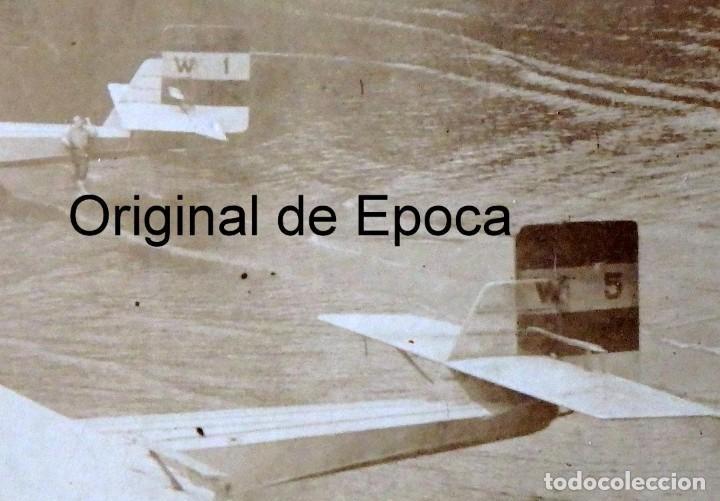 Postales: (JX-180719)Excepcional postal fotográfica de los Hidroaviones Dornier Wal de la patrulla Atlantida - Foto 4 - 127569419