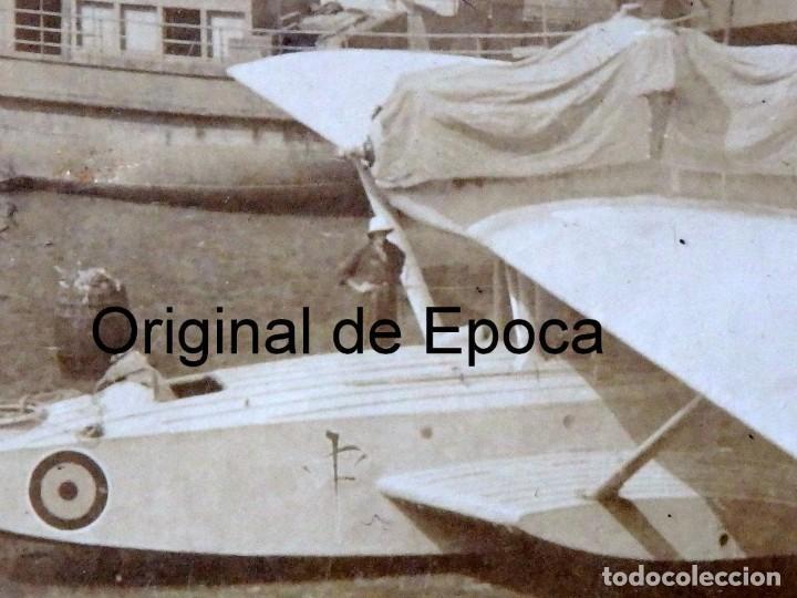Postales: (JX-180719)Excepcional postal fotográfica de los Hidroaviones Dornier Wal de la patrulla Atlantida - Foto 5 - 127569419