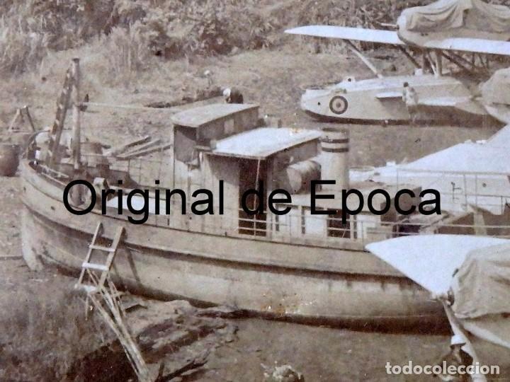 Postales: (JX-180719)Excepcional postal fotográfica de los Hidroaviones Dornier Wal de la patrulla Atlantida - Foto 7 - 127569419