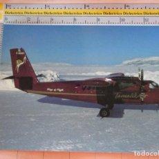 Postales: POSTAL DE AVIONES AEROLÍNEAS. AVIÓN AVIONETA DHC 6 DE TAMALIK AIR, CANADÁ. 18. Lote 127592067