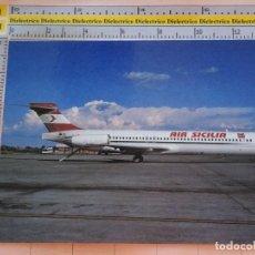Postales: POSTAL DE AVIONES AEROLÍNEAS. AVIÓN MD 87 DE AIR SICILIA, ITALIA. 25. Lote 127592539