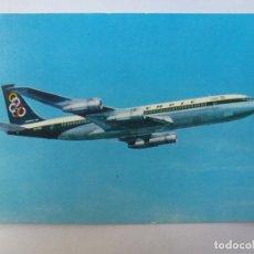 Postales: POSTAL. OLYMPIC AIRWAYS. BOEING 707-320. SUPER FAN JET.. Lote 128013307