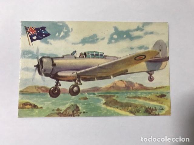 TARJETA POSTAL CHOCOLATES LA ESTRELLA Nº 68 C.A.C. WIRRAMAY (Postales - Postales Temáticas - Aeroplanos, Zeppelines y Globos)