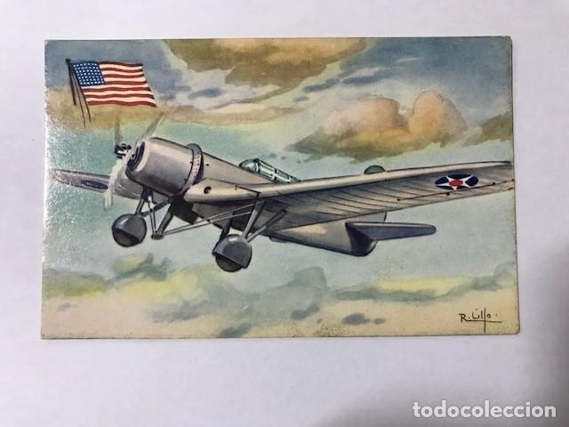 TARJETA POSTAL AVIÓN CHOCOLATES LA ESTRELLA Nº 4 BELLANCA 28-90 B (Postales - Postales Temáticas - Aeroplanos, Zeppelines y Globos)
