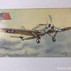 Postales: TARJETA POSTAL AVIÓN CHOCOLATES LA ESTRELLA Nº 5 BREWSTER F. 2 A-1. Lote 129326819