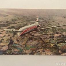 Postales: AVIÓN CARAVELLE (VI-R) AIR FRANCE 27 DE MAYO DE 1955. Lote 129723603