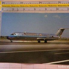 Postales: POSTAL DE AVIONES AEROLÍNEAS. AVIÓN MCDONNELL DOUGLAS DC9 DE EASTERN AIRLINES. 1082. Lote 130214767