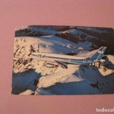 Postales: POSTAL DE AVION TRANS EUROPEAN AIRWAYS. . Lote 131095724