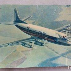 Postales: ANTIGUA POSTAL SAPHO - REF. 905 AIR FRANCE VICKERS VISCOUNT. Lote 132385514