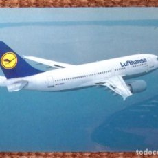 Postales: LUFTHANSA - AIRBUS A310-300. Lote 132636050