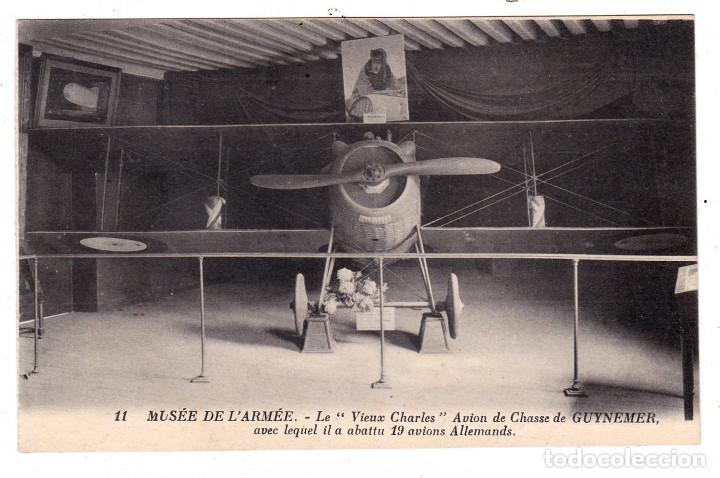 FRANCE PARIS HOTEL INVALIDES MUSEE DE L'ARMEE, SALLE DES ALLIES VIEUX CHARLES (Postales - Postales Temáticas - Aeroplanos, Zeppelines y Globos)