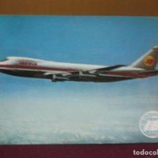 Postcards - POSTAL AVION.BOEING-747 JET. IBERIA. IMPRENTA INDUSTRIAL 1970. - 132892538