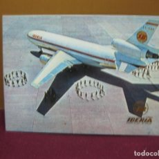 Postais: POSTAL AVION. IBERIA DC 10/30 COSTA BRAVA.. Lote 133716170