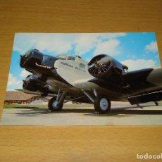 Postales: TARJETA POSTAL AVIACIÓN: JUNKERS JU 52. AIR CLASSIC GMBH. TAMAÑO 105 X 147 MM.. Lote 133875114