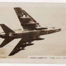 Postales: FOTOGRAFÍA ANTIGUA DE F- 100 C SUPER SABRE YET. U.S.A.. Lote 134286786