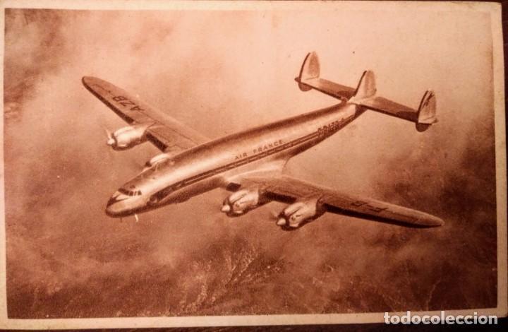 AIR FRANCE 14 X 9 CM (Postales - Postales Temáticas - Aeroplanos, Zeppelines y Globos)