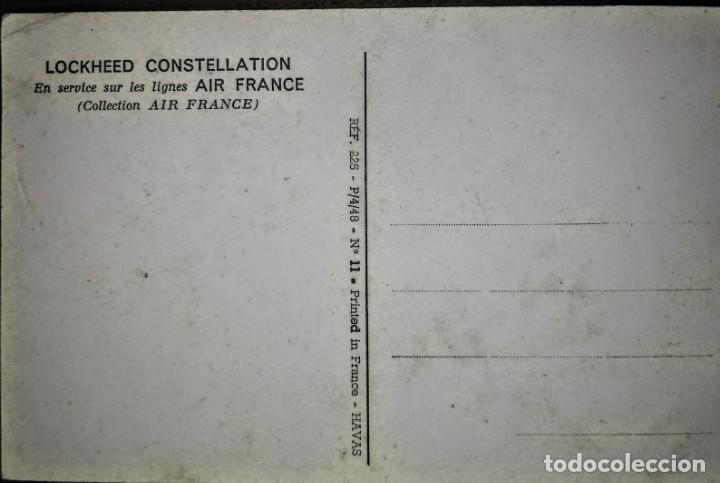 Postales: AIR FRANCE 14 X 9 CM - Foto 2 - 134558222