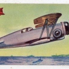 Postales: MONOPLANO CAZA. PERÚ. GRUMMAN F.3.F.2. PUBLICIDAD CHOCOLATES LA ESTRELLA.. Lote 135102518