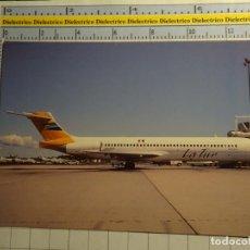 Postales: POSTAL DE AVIONES AEROLINEAS. AVIÓN MCDONNELL DOUGLAS MD87. LATUR AIRLINES MEXICO. 2239. Lote 135849614