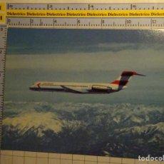 Postales: POSTAL DE AVIONES AEROLINEAS. AVIÓN MCDONNELL DOUGLAS MD81 DE AUSTRIAN AIRLINES. 2244. Lote 135849794