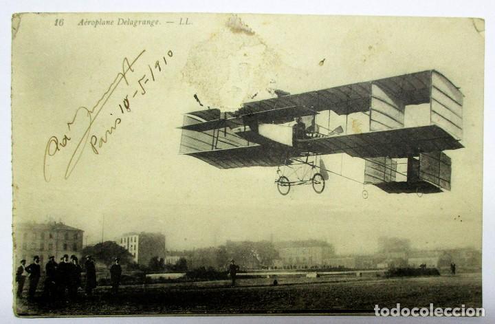 16 AÉROPLANE DELAGRANGE.- LL. POSTALES 0028 (Postales - Postales Temáticas - Aeroplanos, Zeppelines y Globos)