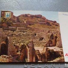Postales: LINEAS AEREAS IBERIA - POSTAL PUBLICITARIA - AÑOS 70 - TEATRO ROMANO DE SANGUNTO. Lote 136239154