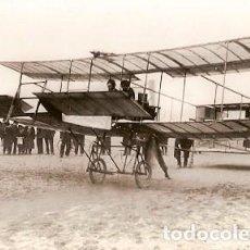 Postcards - Francia & Primer Vuelo de Aviación con Pasajero, Delagrange 1908, Pub. Transfusine 1962 (6688) - 137297582