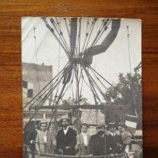 Postales: GLOBO ESTATICO - BARCELONA - PRIMERA DECADA DEL SIGLO XX - SIN CIRCULAR - L. DONOSO , FOTÓGRAFO. Lote 137320070