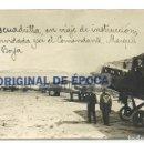 Postales: (PS-58157)POSTAL FOTOGRAFICA DE ALBACETE-ESCUADRILLA DEL COMANDANTE MARQUES DE BORJA. Lote 138803462