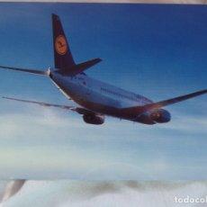 Postales: LUFTHANSA BOEING 737-300- PRINTED IN GERMANY-. Lote 139678030