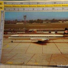 Postales: POSTAL DE AVIONES AEROLINEAS. AVIÓN DE HAVILLAND COMET 4B DE BEA AIRTOURS AEROPUERTO LE BOURGET 1167. Lote 139770426
