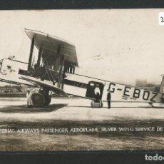 Postales: AEROPLANO - IMPERIAL AIRWAYS - P27089. Lote 139828274